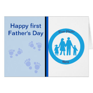 Happy First Father's Day to first time Dad Card