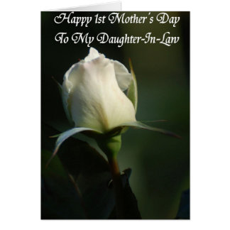 Happy First Mother's Day greeting card