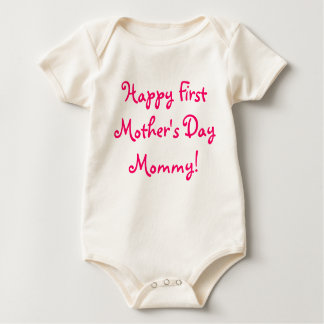 Happy First Mother's Day Mommy! Bodysuit