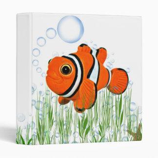 Happy Fish 3 Ring Binders