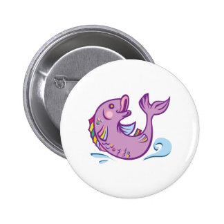 Happy Fish Pin