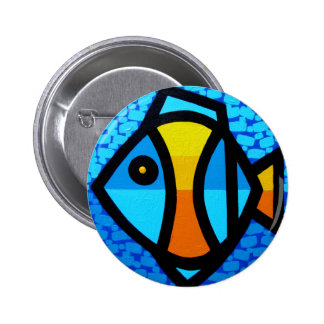 Happy Fish Buttons