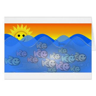 Happy Fish Card