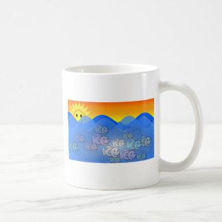Happy Fish Classic White Coffee Mug