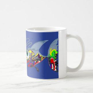 Happy Fish From The Deep Coffee Mug