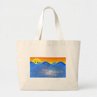Happy Fish Jumbo Tote Bag