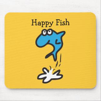 Happy Fish Mouse Pad
