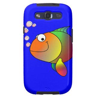 Happy Fish Samsung Galaxy S Case