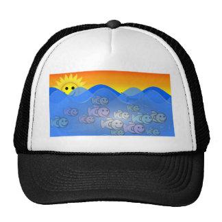 Happy Fish Trucker Hat