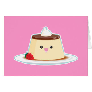 Happy Flan Card