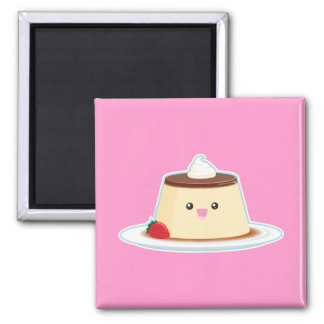 Happy Flan Magnets