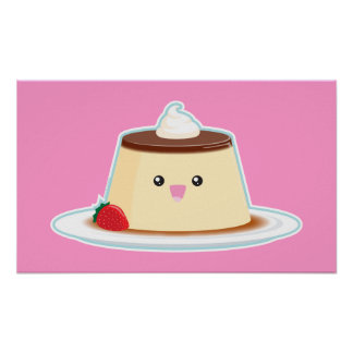 Happy Flan Poster