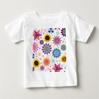Happy floral pattern baby T-Shirt