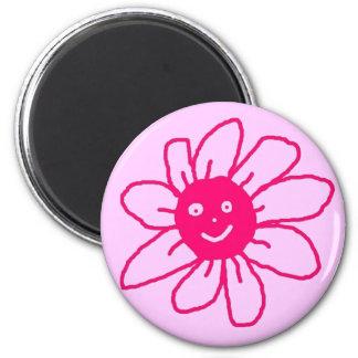 Happy Flower Magnet