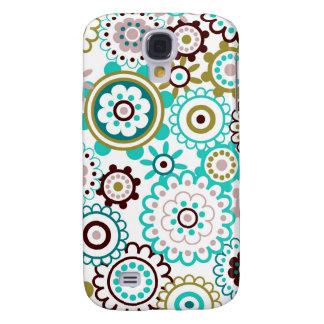 Happy Flowers 3 Samsung S4 Case