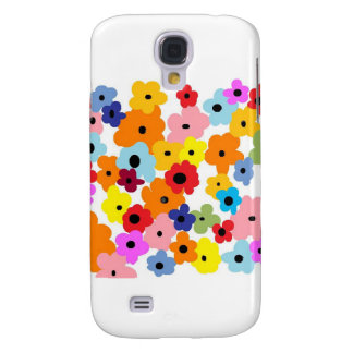 """""""HAPPY FLOWERS"""" Collection Galaxy S4 Cases"""
