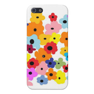 """""""HAPPY FLOWERS"""" Collection iPhone 5 Cases"""