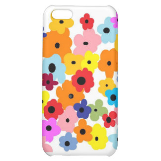 """""""HAPPY FLOWERS"""" Collection iPhone 5C Cases"""