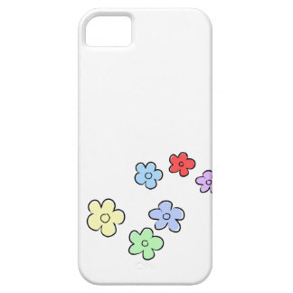 Happy Flowers - Colourful - customize it - iPhone 5 Cover