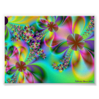 Happy Flowers Posters