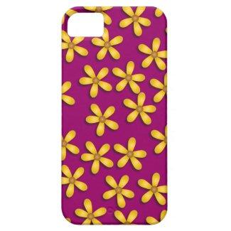 Happy Flowers Purple iPhone 5 Case