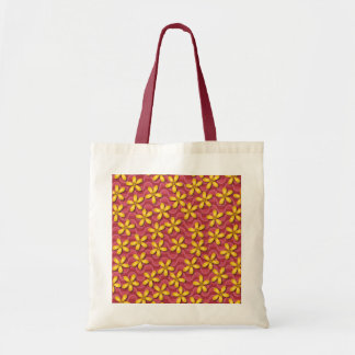 Happy Flowers Red Bag