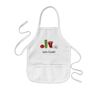 Happy foods, Let's Cook! Kids' Apron