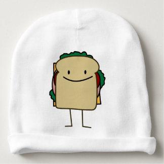 Happy Foods Smiling Sandwich Baby Beanie