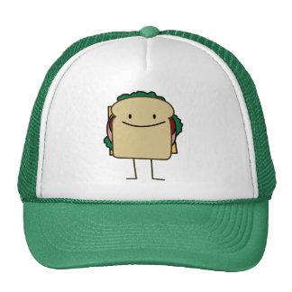 Happy Foods Smiling Sandwich Trucker Hat