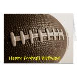 Happy Football Birthday Card