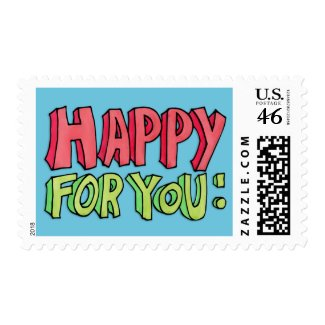 Happy For You Stamp stamp