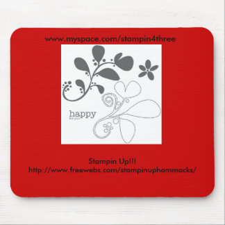 Happy For You, Stampin Up!!! http://www.freeweb... Mouse Pad