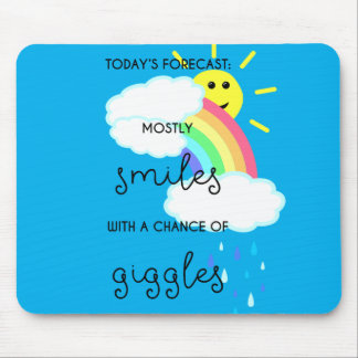Happy Forecast Mouse Pad