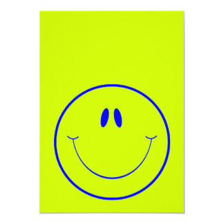 HAPPY FOREVER2 SMILEY FACE CARTOON EXPRESSIONS CARD