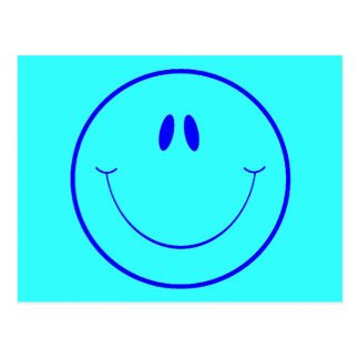 HAPPY FOREVER2 SMILEY FACE CARTOON EXPRESSIONS POSTCARD