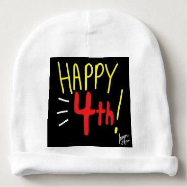 jasmineflynn Happy Fourth 1 Baby Beanie