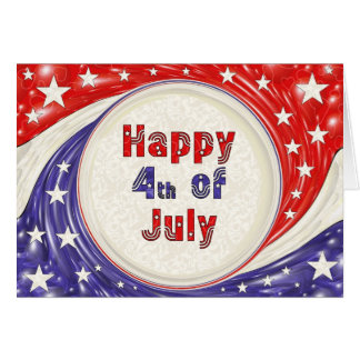 Happy Fourth of July Greeting Card
