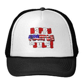 Happy Fourth of July Gear Trucker Hat