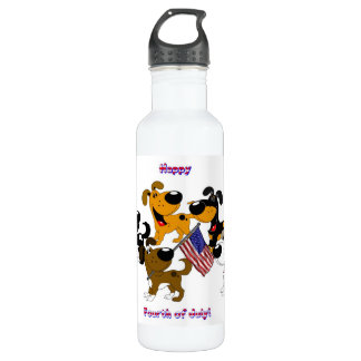 Happy Fourth of July! Stainless Steel Water Bottle