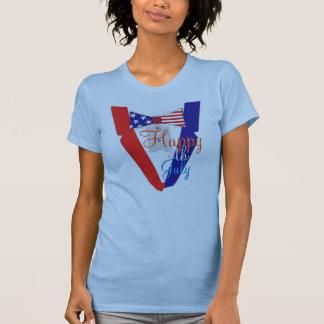 Happy Fourth of July USA Bowtie Tuxedo Tshirts