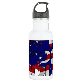 Happy Fourth of July Water Bottle