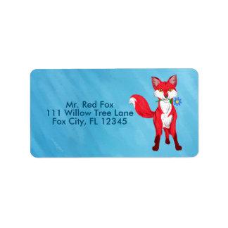 Happy Fox Label