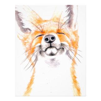 Happy Foxy Letterhead
