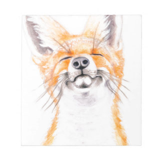 Happy Foxy Notepad