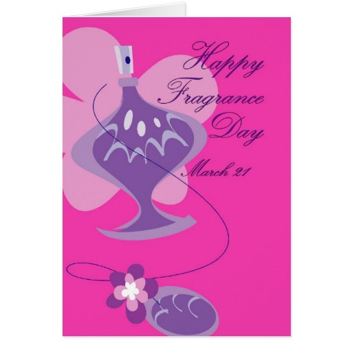 Happy Fragrance Day March 21 Card