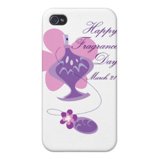 Happy Fragrance Day March 21 iPhone 4 Cases
