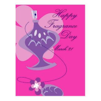 Happy Fragrance Day March 21 Postcard