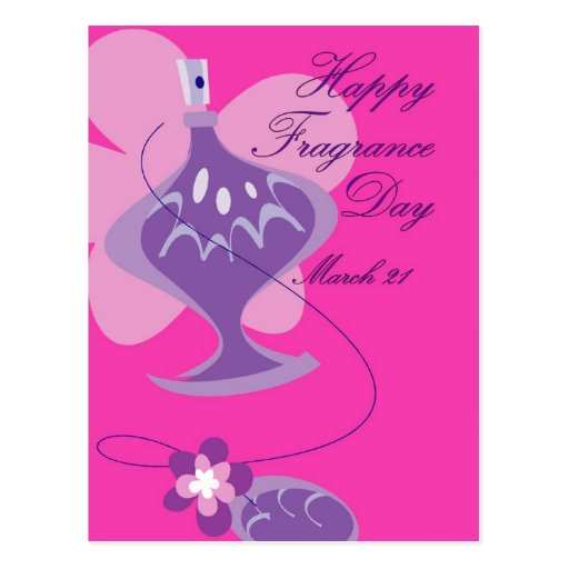 Happy Fragrance Day March 21 Post Cards