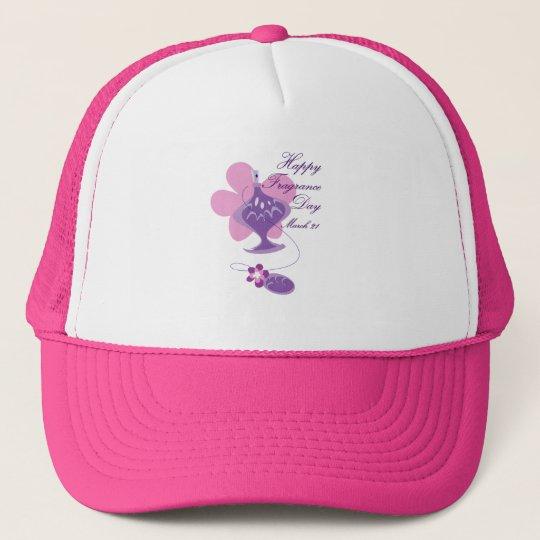 Happy Fragrance Day March 21 Trucker Hat