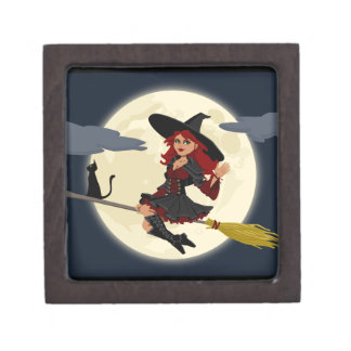 Happy Freaking Halloween Witch Gift Box